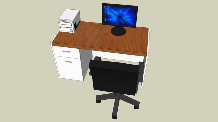 Bureau+stoel