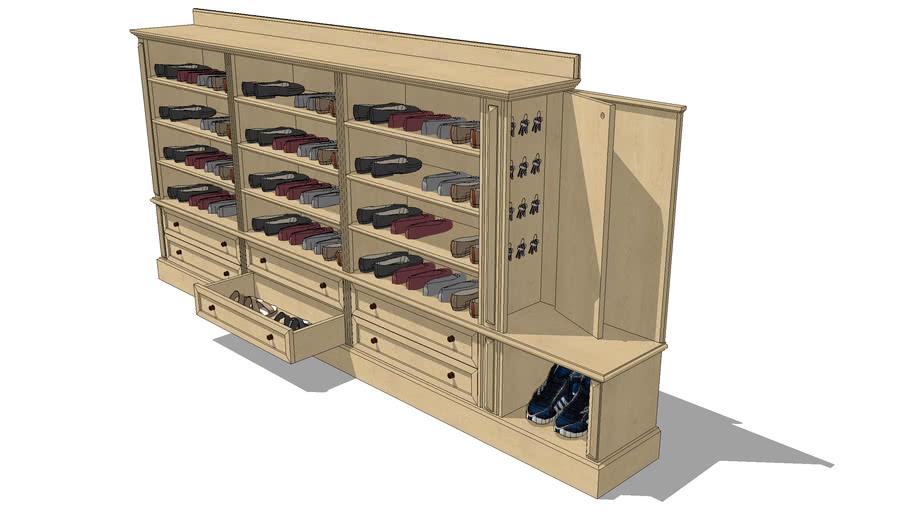 shoe cabinet , botník MR