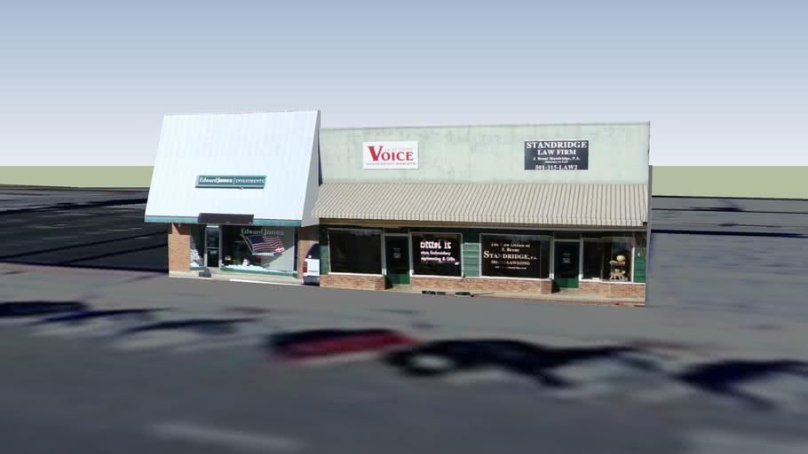 Standridge Law Firm, Edward Jones, Saline County Voice Building