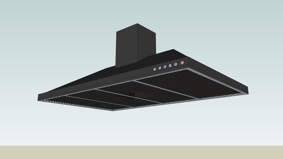 Kitchen Extractor Fan 3d Warehouse