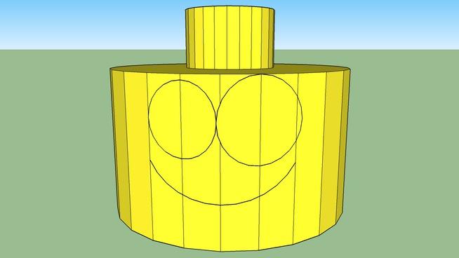 Lego Guy Head