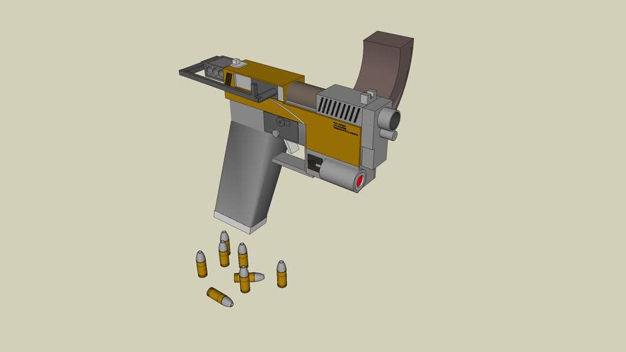 Custom W.A.L  2036 handgun
