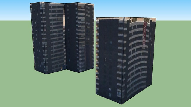 Edificio Comunidad Chile-España, Ñuñoa, Santiago, Chile