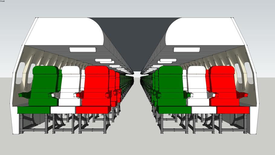 Air  Italia Cabin A320