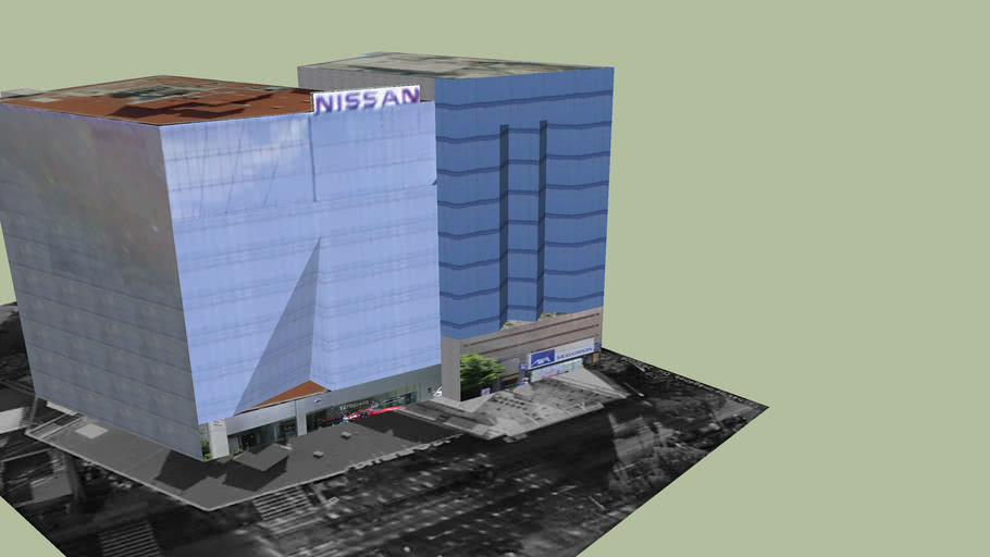 Edificios nissan & axa - Mexico DF