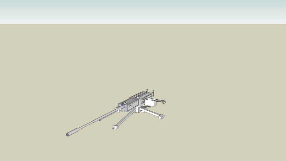 machine gun unfinished
