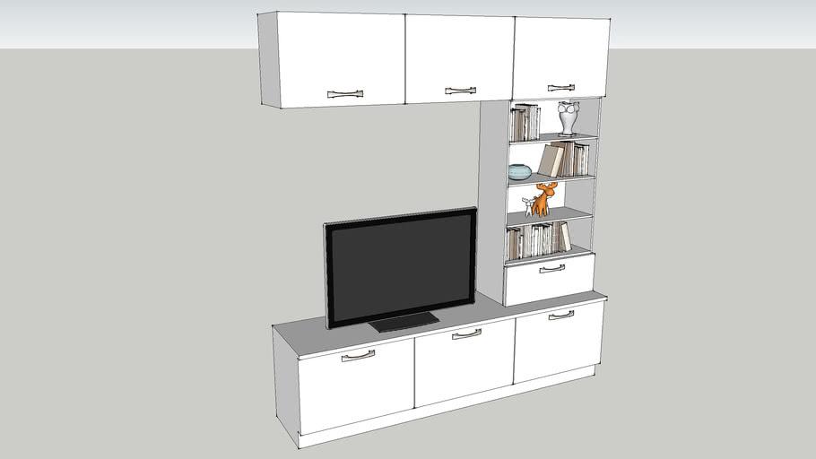 Set of furniture for TV