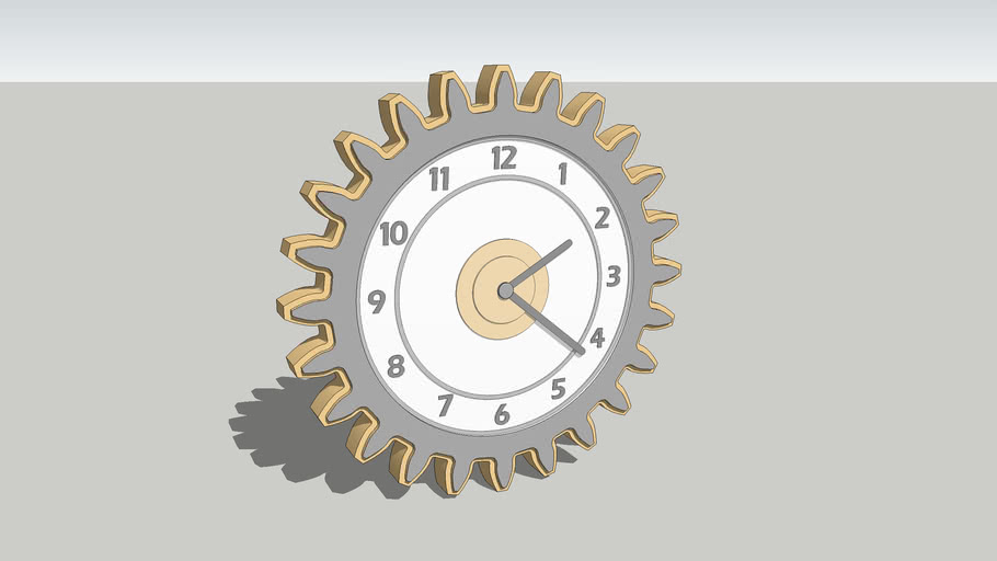 Custom Gear Clock