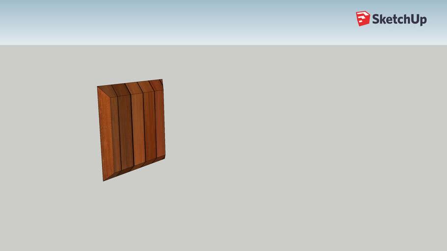 Ark Wooden Wall