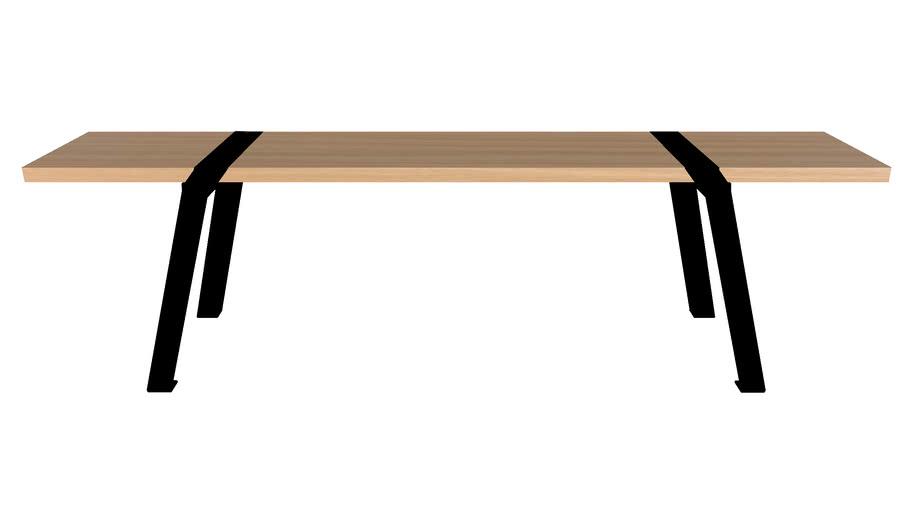 Pi10 Bench Pi 160 cm design Roderick Fry for Moaroom
