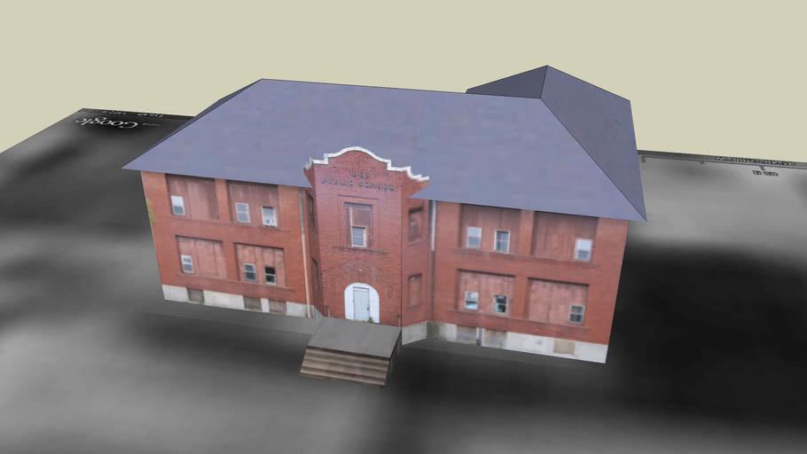 Rolla 1909 Benton Public School
