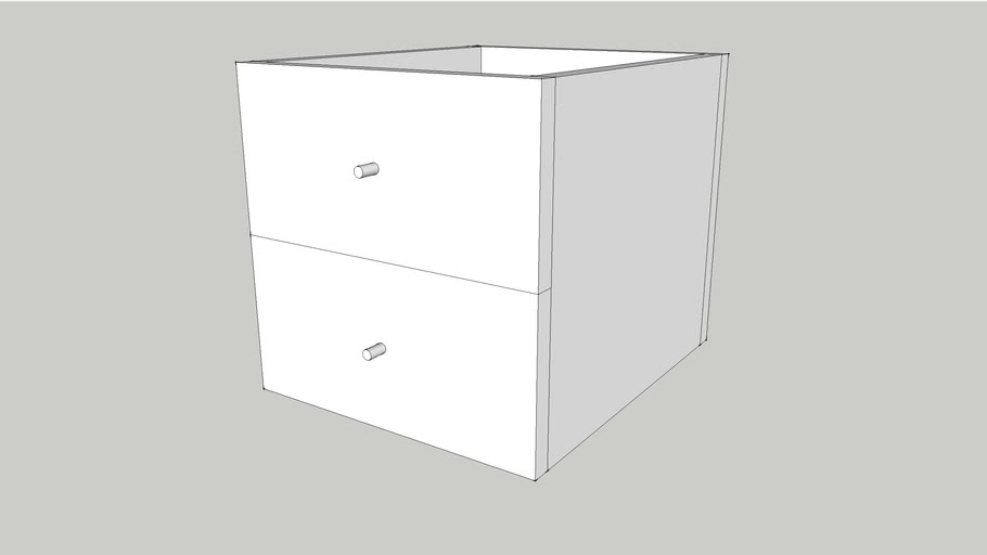 EXPEDIT, Insert with 2 drawers