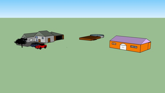 Sketchup House and Dream House