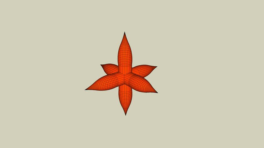 Orange spiky