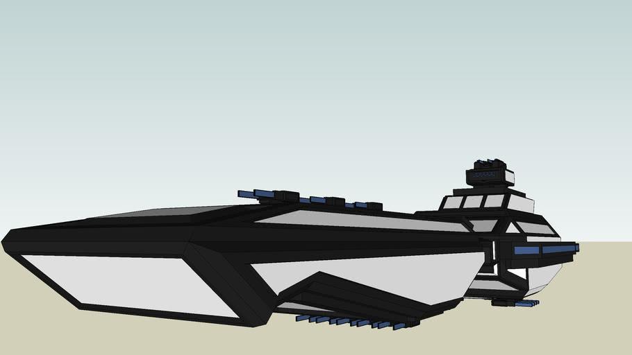 "Alican Empire Uniformity Class Battleship ""GUNMAN"""