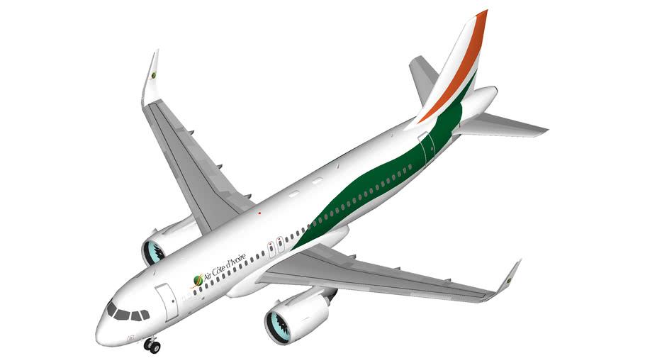 Air Côte d'Ivoire Airbus A320neo