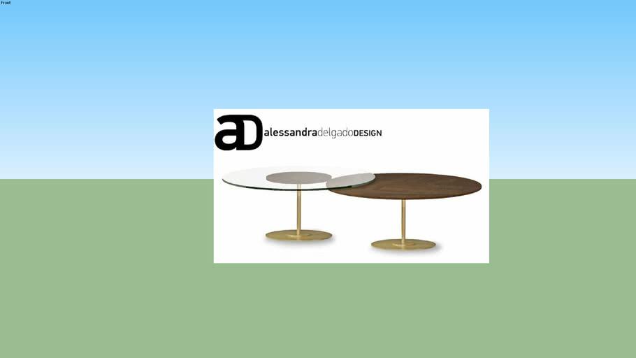 AL-Cir mesa de centro