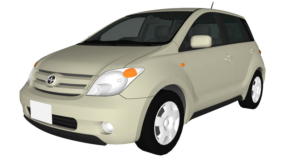 Scion Xa Toyota Ist 3d Warehouse