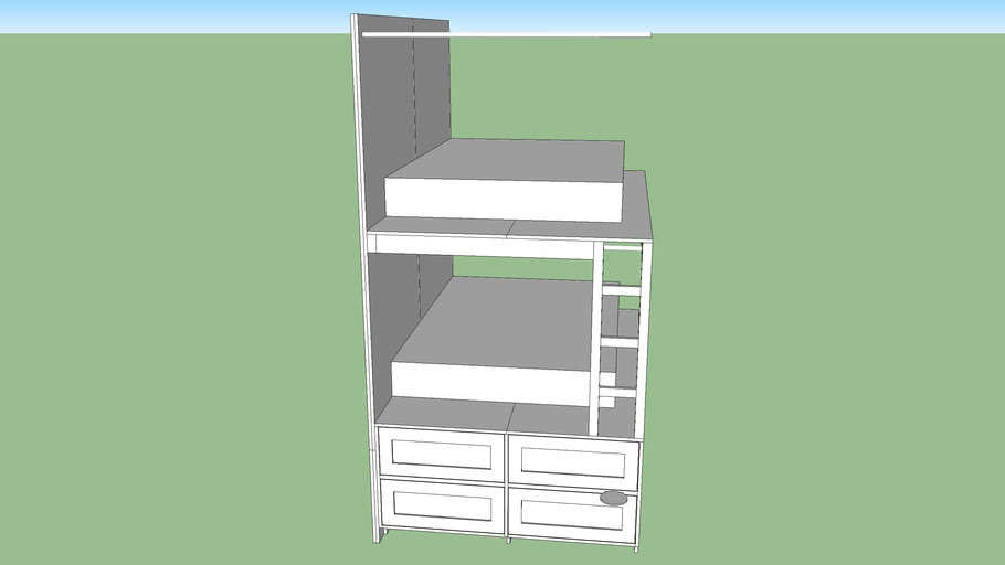 bunk bed double