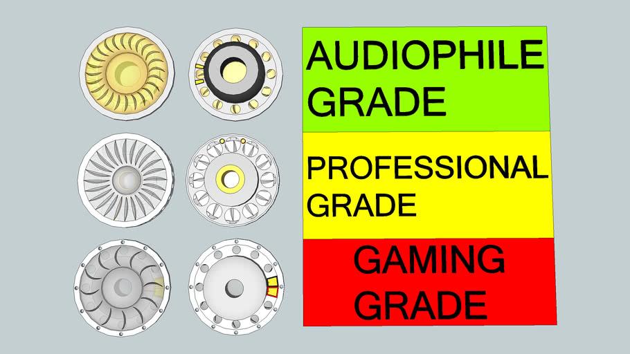 Headphone Driver Series (Neodymium)