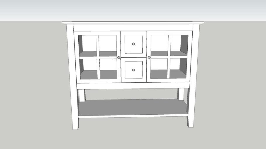 Simple buffet cabinet