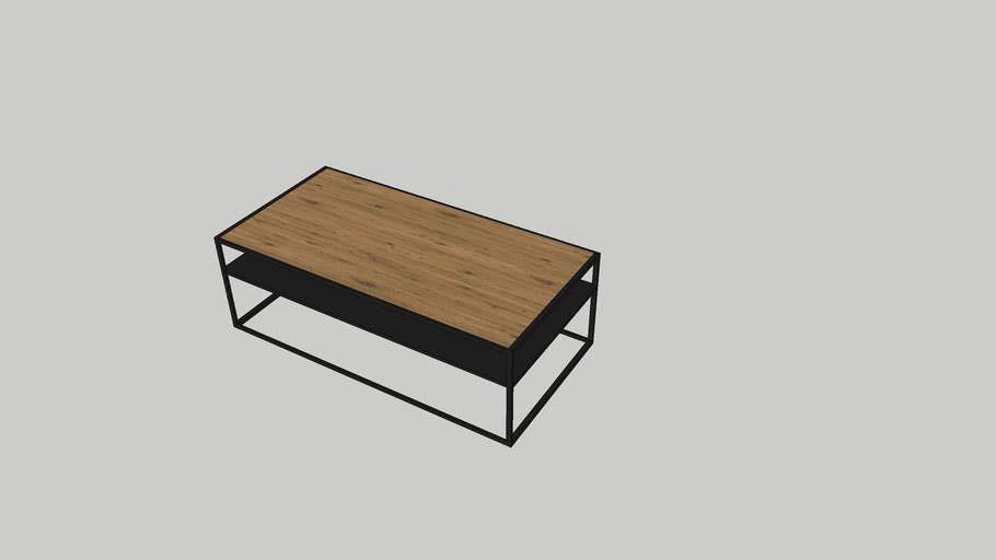 Salontafel Bilbao Coffe table Lifestyle 120x60x40
