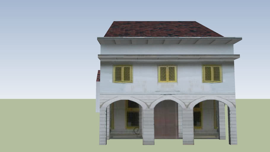 House on Kali Besar Barat