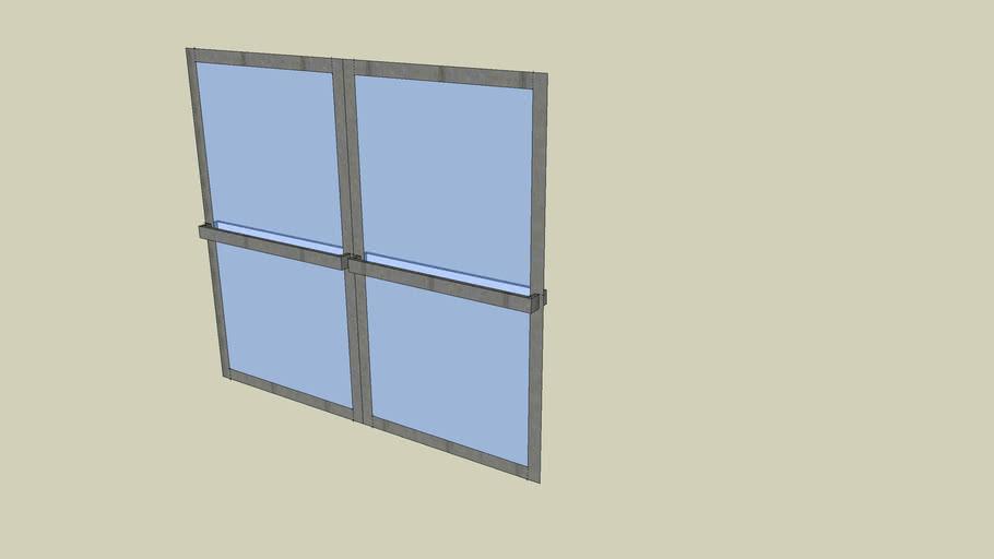 adam's double glass door 2