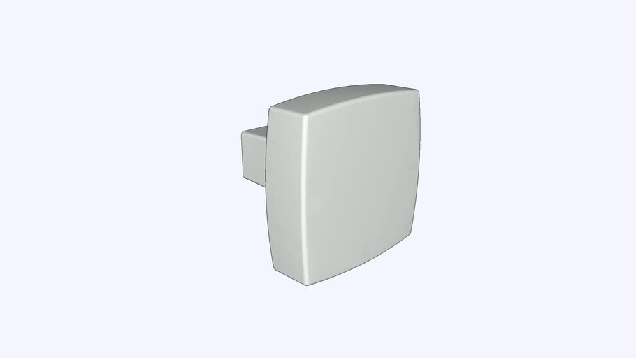 Coventry Knob 1-1/4 Inch Square by Belwith Keeler™