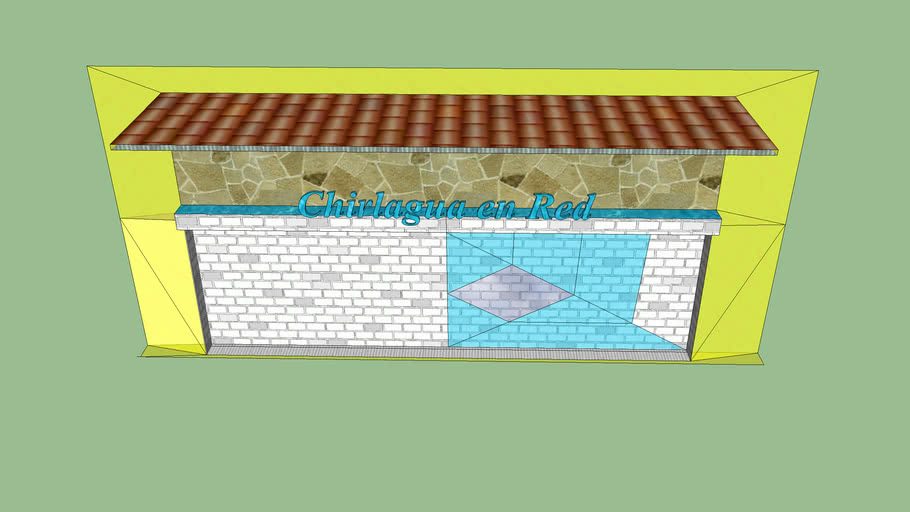 Template 3d for site chirilagua en Red