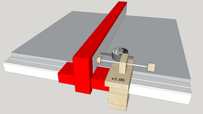 Micro-Adjuster Jig for Fences