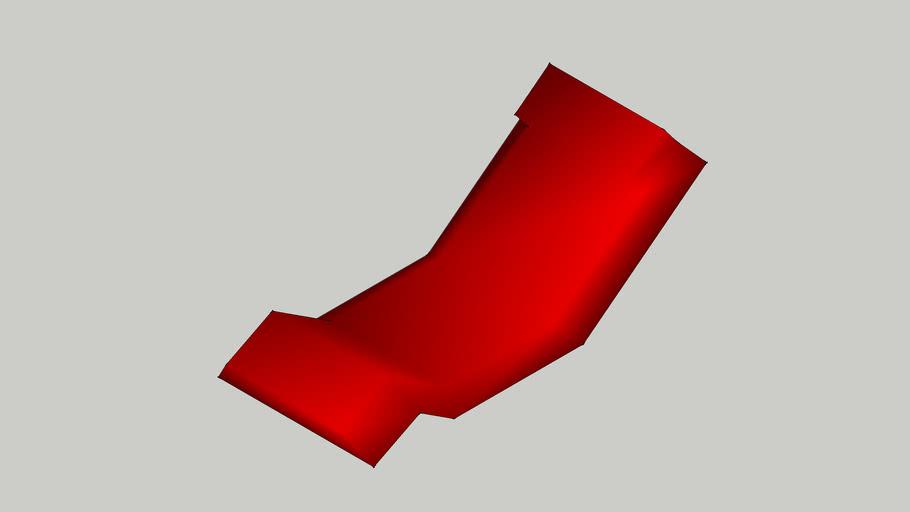 red comfort chair
