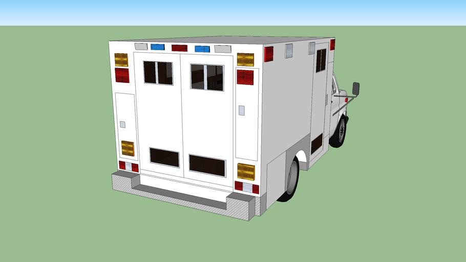 Type 3 ambulance ford econoline f 350 model 1987