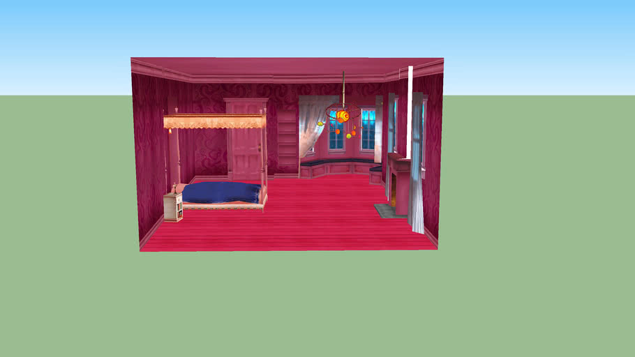 Coraline S Room With Shadow System 3d Warehouse
