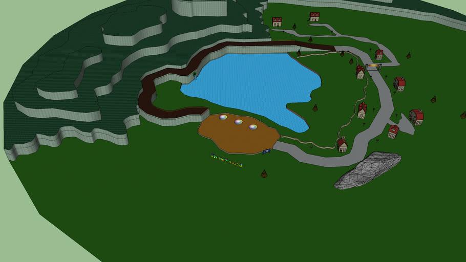 Mario Kart Acaia's Village 'Custom Track'