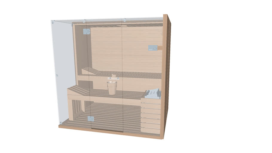 Effegibi SKY CORNER 60 R.H. - sauna