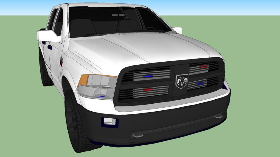 patrulla dodge ram modelo 2015