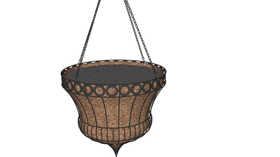 Queen Elizabeth Parasol Hanging Basket Planter
