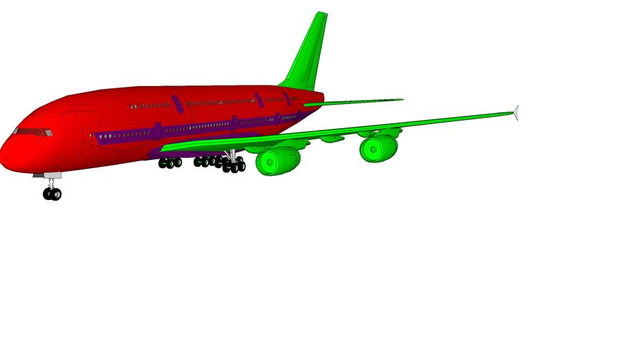 Tubai Air Airbus A380