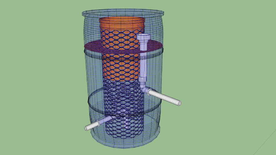 Hybrid Bio Radial Flow Filter
