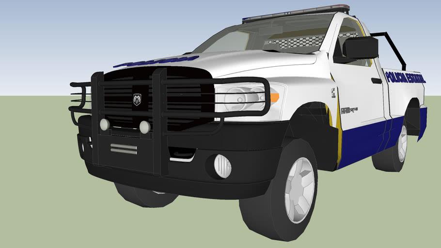 patrulla de seguridad publica y transito policia estatal preventiva