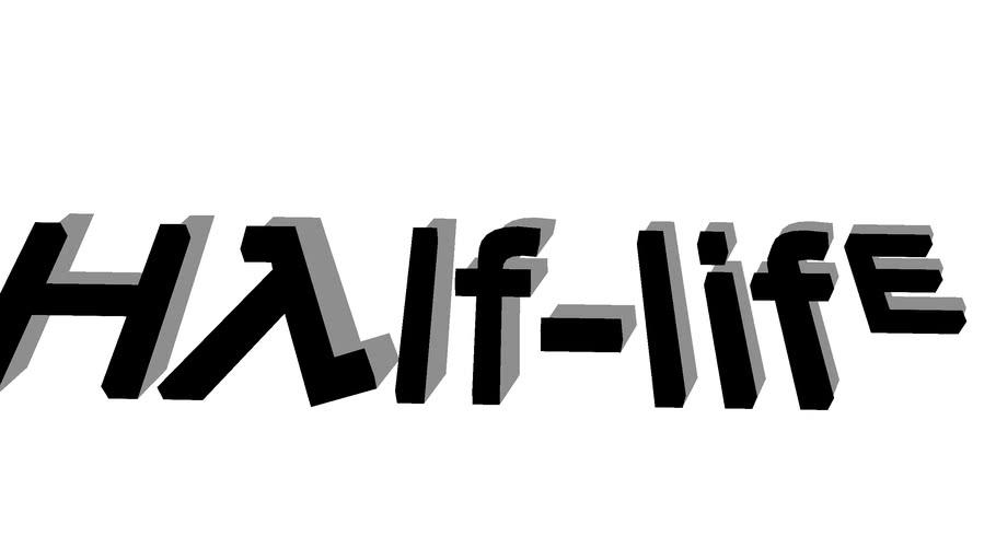 Half life logo