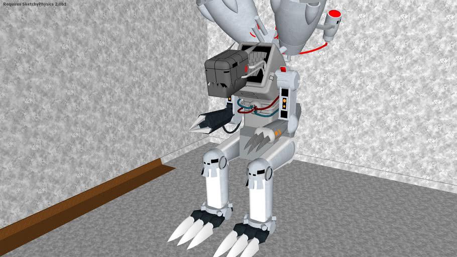 Machinedramon animated