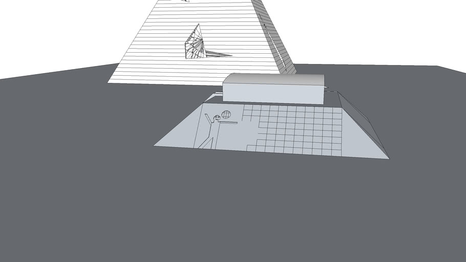 Pyramid+Mayan pyramid