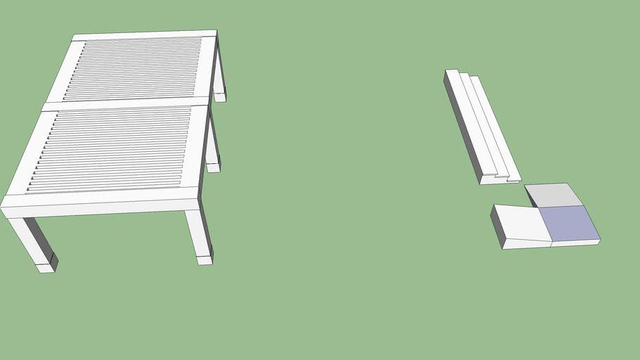 餐廳露台雨遮+樓梯+坡道