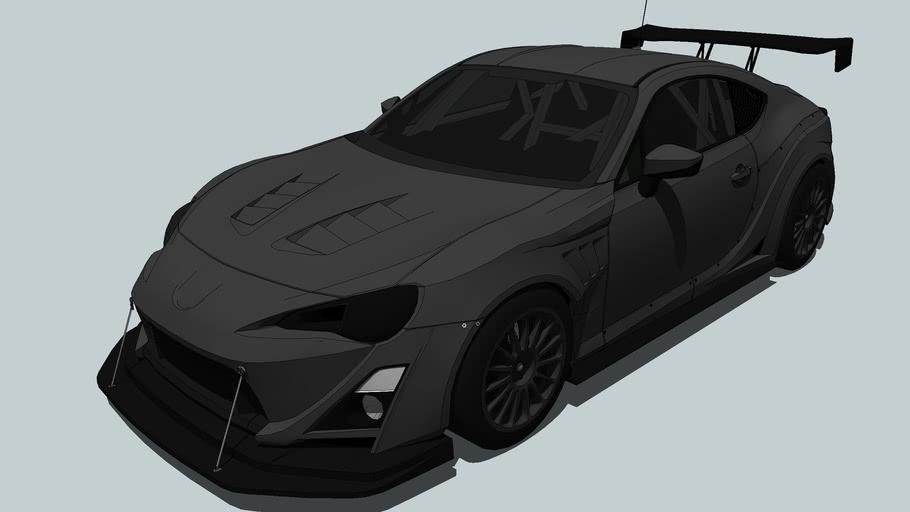 Subaru - BRZ 2012 (Dead Racing)