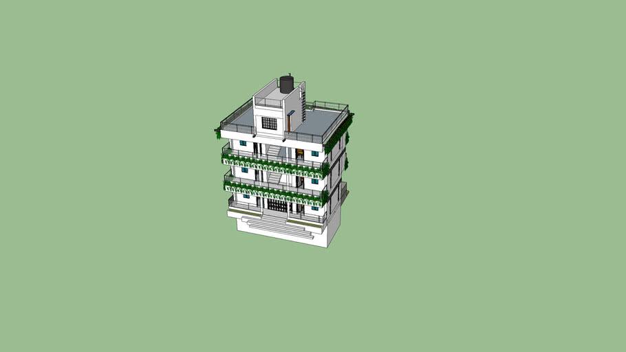 SPRAT's TARKIK SADAN- SARAEY(GC) 3D View