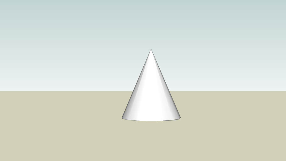 Sketchy Physics- a cone.... or is it??