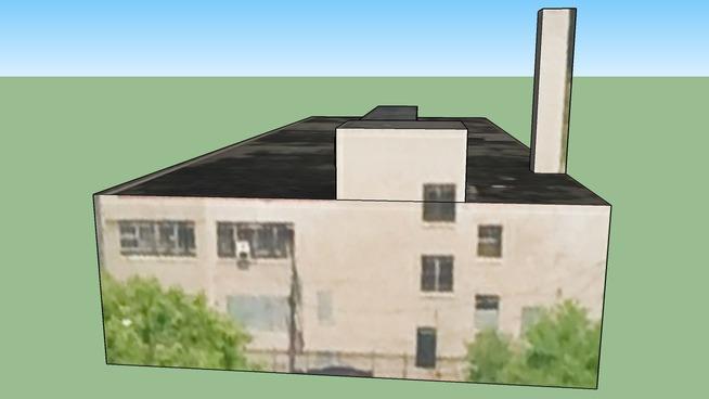 Edificio en Detroit, MI, USA
