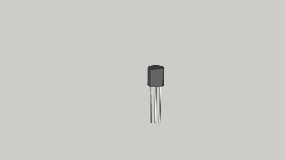 Transistor Modelo 01 (TO92)